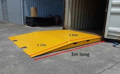 Picture of 8 Tonne Container Ramp 3000mm Length